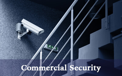 commercial security company service