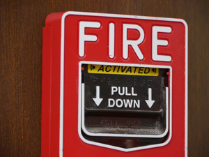 fire alarm for commercial security systems